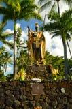 Konung Kamehameha arkivbilder