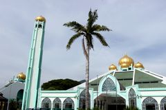 Konung Khaled Mosque 2 Royaltyfria Bilder