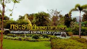 Konung Of King In Thailand Fotografering för Bildbyråer