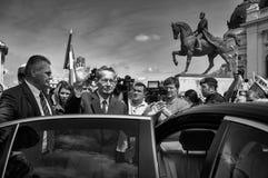 Konung Michael av Rumänien Fotografering för Bildbyråer