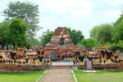 Konung Naresuan Monument Arkivbilder