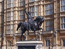 Konung Richard, Lionhearten Royaltyfri Bild