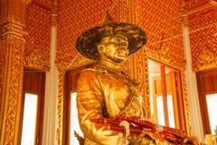 Konung Taksin Statue Royaltyfria Bilder