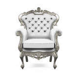 Konung Throne Chair Royaltyfria Bilder