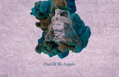 Konung Vlad III, Impaleren royaltyfri illustrationer