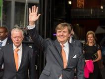 Konung Willem-Alexander av Nederländerna Arkivfoto
