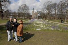 KONUNGAR GARDEN_SPRINGS I DANMARK Fotografering för Bildbyråer