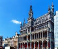 Konungar House på det storslagna stället, Bryssel, Belgien Arkivfoto