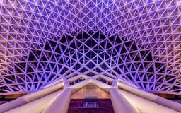 Konungar korsar arkitektur, London Arkivfoton
