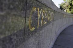 Konungar parkerar konungar för monument för krigminnesmärke parkerar Perth trevliga Australien Arkivfoto