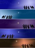 konungar tre Royaltyfri Bild