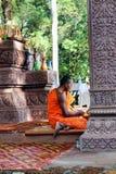 Konungariket Kambodja Angkor Wat Fotografering för Bildbyråer