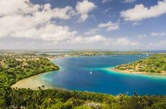 Konungariket Tonga från över Fotografering för Bildbyråer