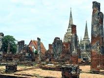 Konungars tempel, Wat Phra Sri Sanphet Fotografering för Bildbyråer