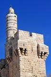 KonungDavid Citadel Royaltyfria Foton