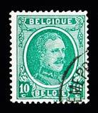 Konungen Albert I - skriva Houyoux serie, circa 1922 Fotografering för Bildbyråer