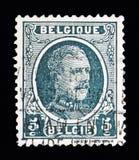 Konungen Albert I - skriva Houyoux serie, circa 1922 Royaltyfria Foton