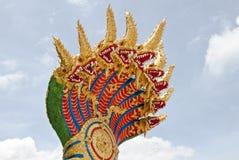 Konungen av nagas Arkivfoto