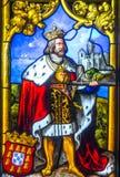 Konungens fönster Arkivbild