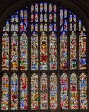 Konunghögskolakapell Cambridge England Arkivfoto