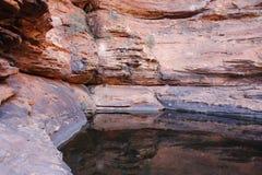 Konungkanjon NT Australien Royaltyfria Foton