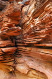 Konungkanjon, röd mitt, Australien Arkivfoto