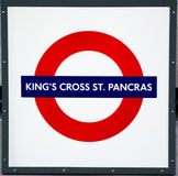 Konungs arg St Pancras gångtunnel Royaltyfri Fotografi