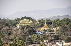 Konungs slott av Loikaw Royaltyfria Bilder