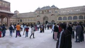 Konungslott Jaipur Royaltyfri Bild