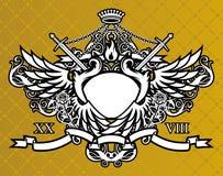 konungvärld royaltyfri illustrationer
