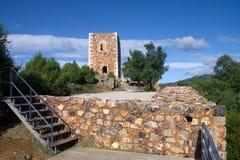 KonungWamba slott Arkivbilder