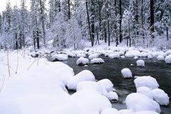 konusuje śnieg Obrazy Stock