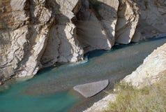 Konventionell tillströmning av den djupa sjön Arkivbilder