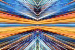 Konvergerande ljus suddighetsbakgrund Arkivbild