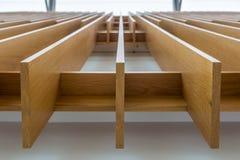 Konvergierende Planken Stockfotografie