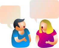 konversation Arkivfoton