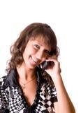 konversationtelefon Royaltyfri Bild