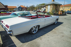 1965 konvertibel chevy impala ss Arkivfoton