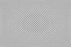 Konvexes Muster Die überprüfte Zusammenfassung punktiert Beschaffenheit lizenzfreie abbildung