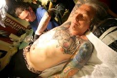 konwencja tatuaż fotografia stock