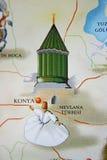 Konya, Mawlana坟茔 免版税图库摄影