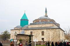 Konya Mevlana museum arkivfoton