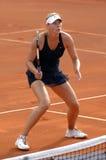 Konzentration Maria-Sharapova Lizenzfreies Stockbild