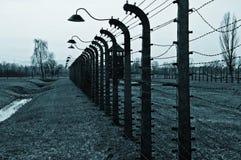 Konzentrations- und Ausrottunglager Stockfoto