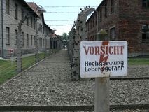 Konzentrationslager Lizenzfreie Stockfotografie