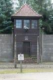 Konzentrationslager auschwitz Lizenzfreies Stockbild
