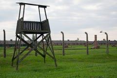 Konzentrationslager Auschwitz birkenau Stockfoto