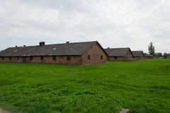 Konzentrationslager Auschwitz birkenau Lizenzfreies Stockfoto