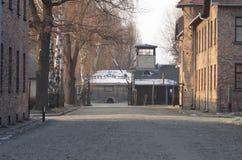 Konzentrationslager Oswiecim/Auschwitz, Polen Lizenzfreie Stockbilder