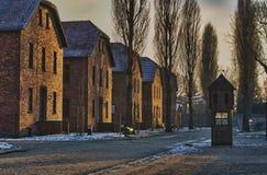 Konzentrationslager Oswiecim/Auschwitz, Polen Lizenzfreie Stockfotografie